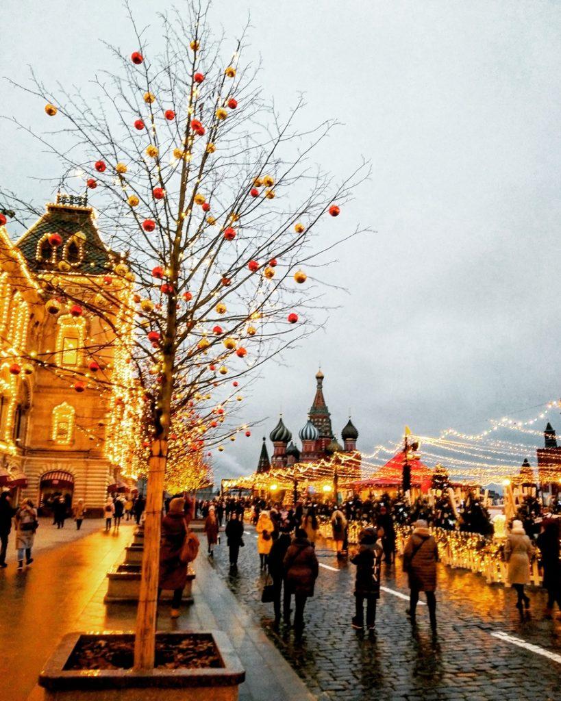 Новый Год 2020 в Москве:  Красная Площадь в новогоднюю ночь